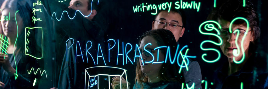 Teaching Visually, using the lightboard